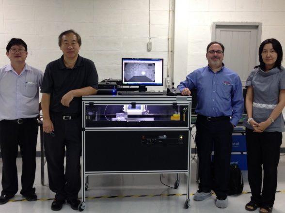 Krystal Microsystems (Thailand) Co., LTD installs Glenbrook X-ray System.